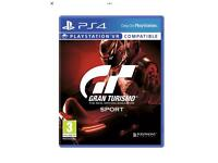 Gran turismo sport ps4 brand new and sealed