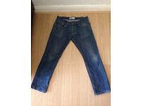 Topman medium blue slim jeans 32short