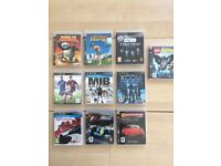 Various PS 3 games for sale as a complete lot
