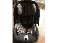 Baby car seat & isofix base