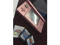 Nintendo 3ds For Sale With 3 Games Few Marks And Scratches!