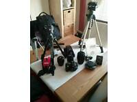 Nikon D5100 plus extra equipment