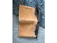 Leather or leather look tool belt and hammer holster