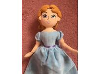 Disney Store Wendy from Peter pan soft doll