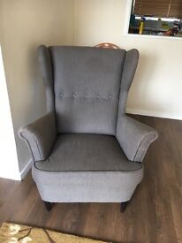 Ikea Strandmon chair in immaculate condition. Selling due to moving