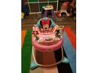 Disney baby walker and V-tech activity table