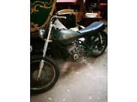 Harley Davidson AMF Aermacchi 250 project