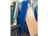 Blue Desk Dividers