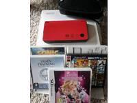 Nintendo DSi XL plus extras