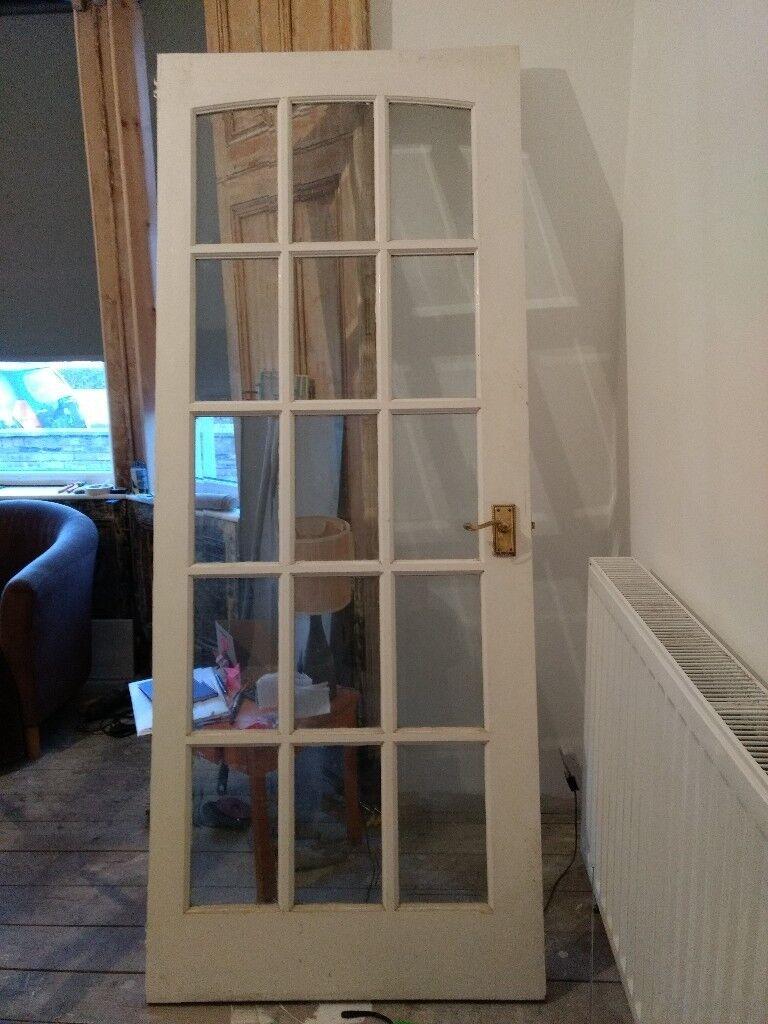 Internal Door 15 Glass Panels. 835x2080x37mm