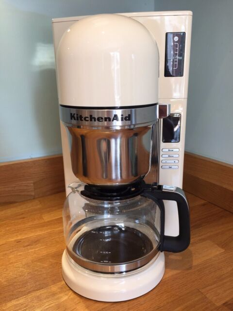 Kitchenaid 5kcm0802 Pour Over Filter Coffee Machine Almond Cream In Woodley Berkshire Gumtree