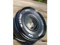Used, Petri 28mm f2.8 M42 screw mount lens for sale  Leicester, Leicestershire