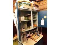 Shefco kitchen cabinet circa 1950's