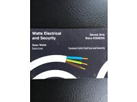 Local experienced city and guild qualified electrician.