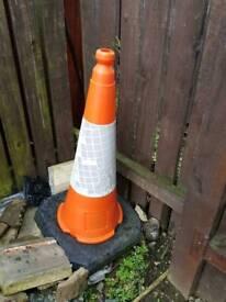 Traffic cones x 2