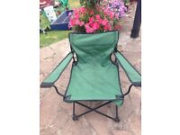 Camping chair folding. £5