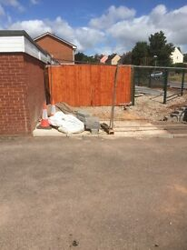 Secure yard to let
