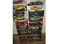 COLLETABLE DIE-CAST 1.18 MODEL CAR VARIOUS MAKES AND MODELS