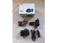 Canon 7D Mark II | Superb Condition | Rarely used | boxed | with extras | body only