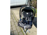 Britax Isofix car seat and base