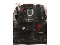 MSI Z170A M3 Motherboard 1151 Intel CPU