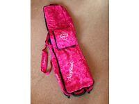 Pink Surfanic snowboard bag
