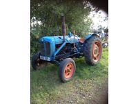 Ford 1955 Major tractor