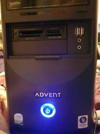 Advent Tower PC T9608 Intel 2.2ghz core duo