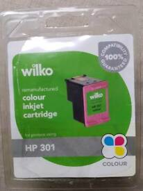 HP 301 tricolour ink