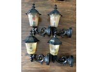 ASSORTED WALL LIGHTS