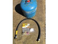 Camping Gaz 907 Cylinder with adaptor and pressure hose