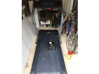 Nordic Track Foldaway Treadmill - US model EXP1000 XI, with power converter for UK use