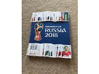 Russia World Cup 2018 panini football sticker swaps
