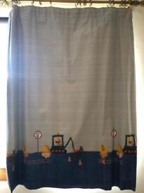 Next kids blackout pencil pleat curtains