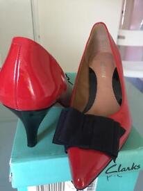 Beautiful shoes by Clarks.