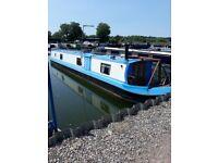 58ft semi trad narrow boat