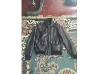 Rare ralph lauren leather jacket
