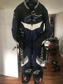 Alpinestars Motorcycle Leather Suit