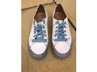 Clarks Active Air lace-up trainer shoe, size 5, unused