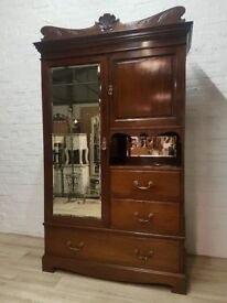 Wylie & Lochhead Wardrobe (DELIVERY AVAILABLE FOR THIS ITEM OF FURNITURE)
