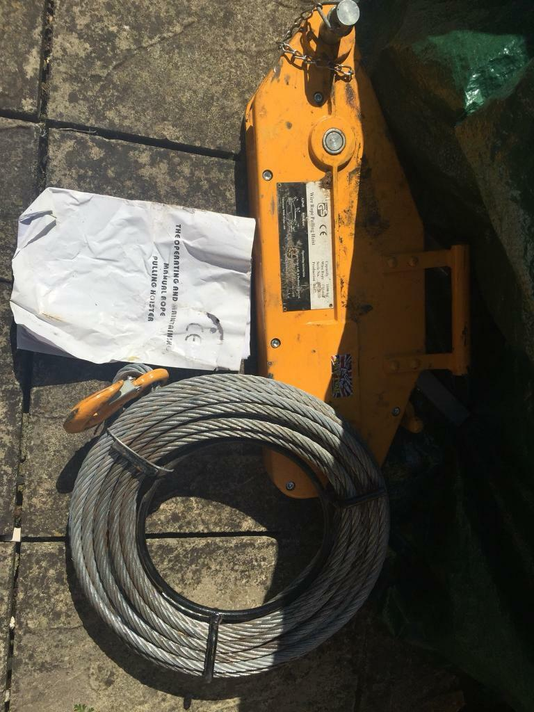 Raptor 1600kg wire rope pulling hoist | in Wooburn Green ...