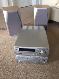 Sharp Hi-Fi has CD Mini disc and radio
