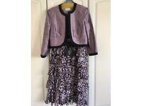 CONDICI dress and jacket set