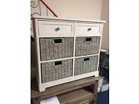 Saltwater 4&2 drawer storage unit.