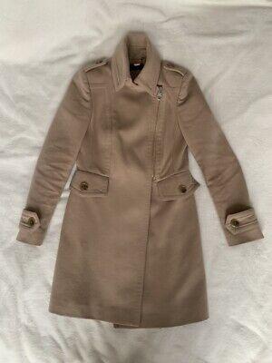 KAREN MILLEN Beige Coat. Size UK 10. LOW PRICE