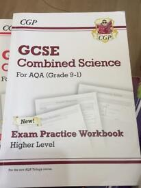 AQA GCSE COMBINED SCIENCE HIGHER AND FOUNDATION WORKBOOK (9-1)