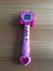 VTECH PINK PRINCESS LEARNING WAND