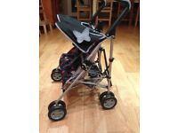 Dolls Silver Cross Double Buggy Toy