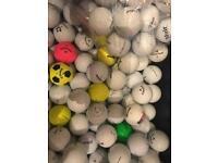 Golf balls titleist callaway srixon etc