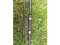 Shimano speedmaster 12ft 3lb TC carp fishing rod.